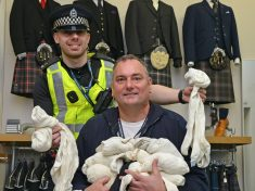 Community Cop's Light-Bulb Moment Sees Socks Donated To Homeless