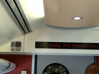 Rail Bosses Investigating After 'Only Fit Birds On This Train' Flashed Across Digital Screens
