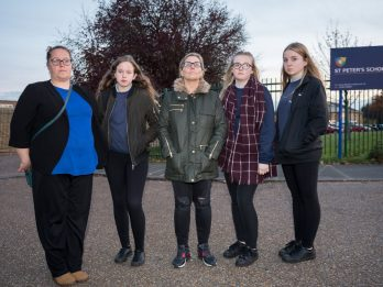Schoolgirls Told To Stop Wearing