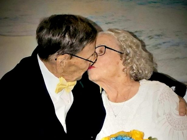 Loved-Up Great-Grandparents Who Had Whirlwind Wedding Because The Groom Was Fighting In World War II Finally Get Dream Ceremony