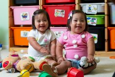 These Adorable Identical Twin Toddlers Are One-In-A-Million – Because They Have Down's Syndrome