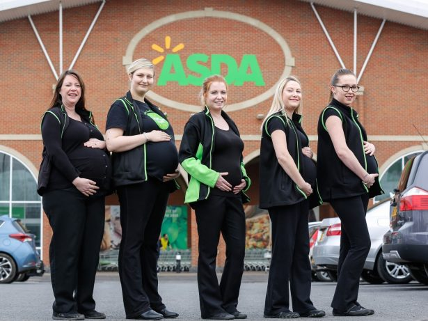 Five Supermarket Workers All Fall Pregnant Within Two Months