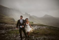 Daring Couple From Chicago Traveled 3,500 Miles To Elope On The Gale-Lashed Isle Of Skye