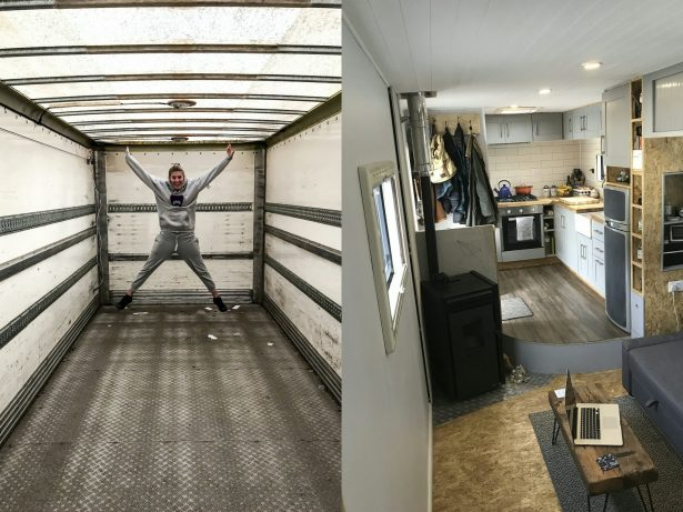 Couple Living The Dream After Spending £20,000 To Create Their Perfect Motor Home - Out Of An Old Bread Lorry