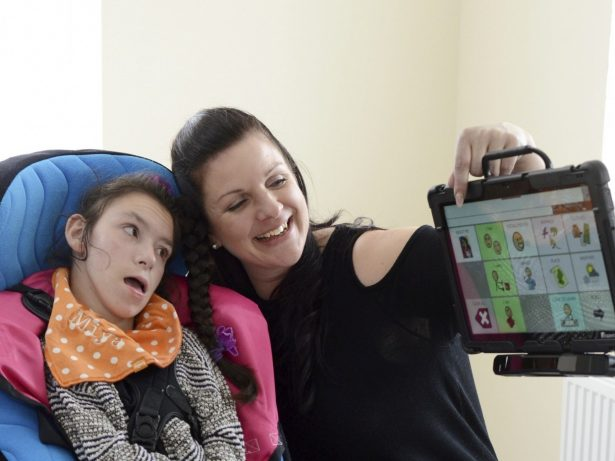 Disabled Girl Who Can't Speak To Her Family After Callous Thieves Steal Her Communication Device Is Backed By String Of Celebrities
