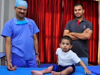 Two-Year-Old Who Lost Both Legs In Tragic Train Accident - Making Remarkable Recovery After Surgeons Reattached Limbs