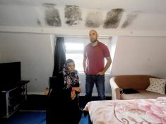 Landlord Threatens To Evict Tenants Who Complained About Water Pouring Through Leaky Roof