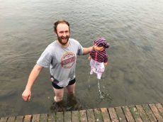 Hero Dad Leaps Into Freezing Lake To Rescue Lifeless Baby – Which Turns Out To Be A Doll