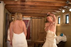 Groom Surprised As Trickster Brother-In-Law Dons White Dress To Ease His Nerves