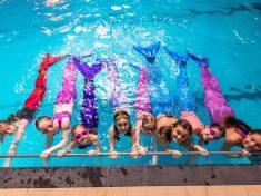 Swimming School Is Teaching People To Become Mermaids