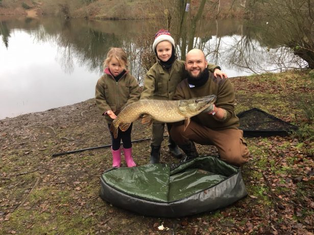 Amateur 7-Year-Old Angler Reels In Whopping 26lb Pike On His First Fishing Trip
