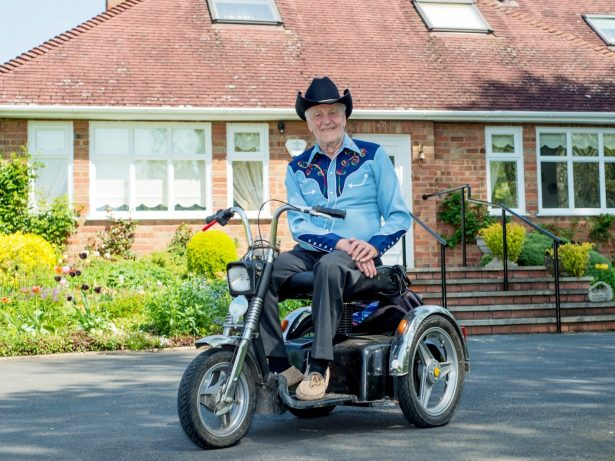 Motorbike-Mad Pensioner Has Ditched His 7mph Mobility Scooter And Splashed Out £4,000 On HARLEY-DAVIDSON Model