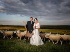 WILL EWE MARRY ME: Britain's Loneliest Shepherdess Has Tied The Knot – With Her Flock As Her Guests