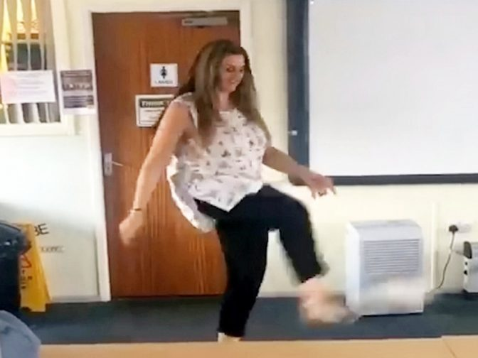 Teachers Release Hilarious Video Showing Off Their Football Skills In Support Of England's World Cup Dreams