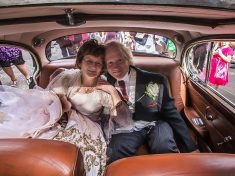 Couple Banned From Seeing Each Other By Bride's Strict Father Tie The Knot 40 Years On