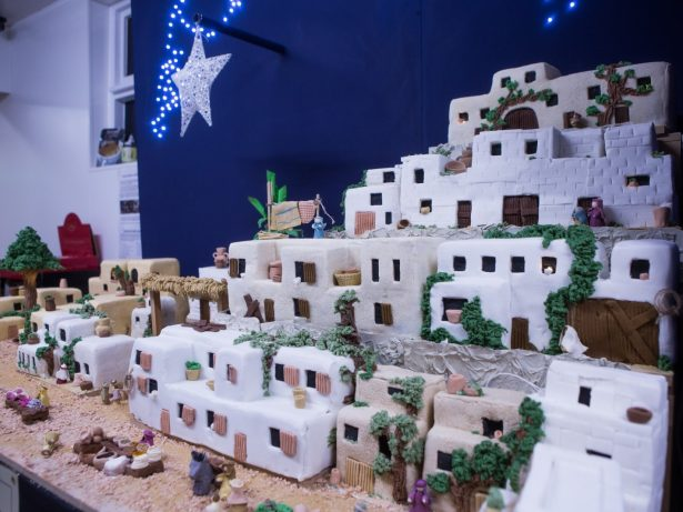 Master Baker Makes Jaw-Dropping Nativity Scene - From Whopping 100kg Of Marzipan And Icing