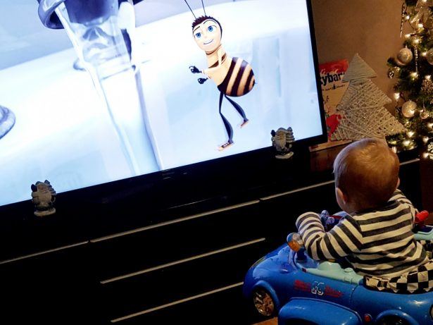 Europe's Most Prolific 'Re-Watcher' Revealed As Mum And Baby Who Watched Bee Movie 357 Times This Year