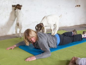 Britain's First Class In GOAT Pilates